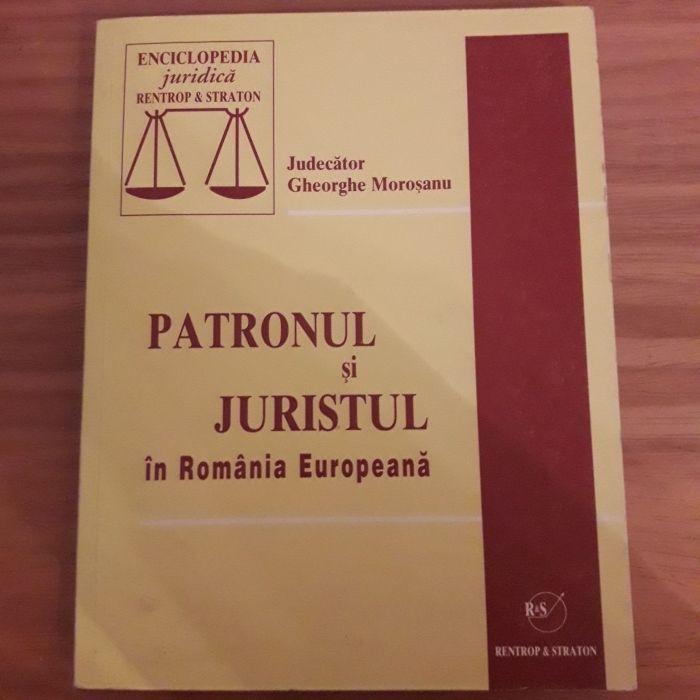 Carte Patronul și Juristul