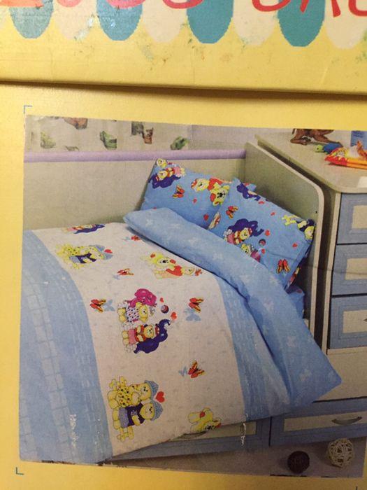 Детское постельное белье для манежа