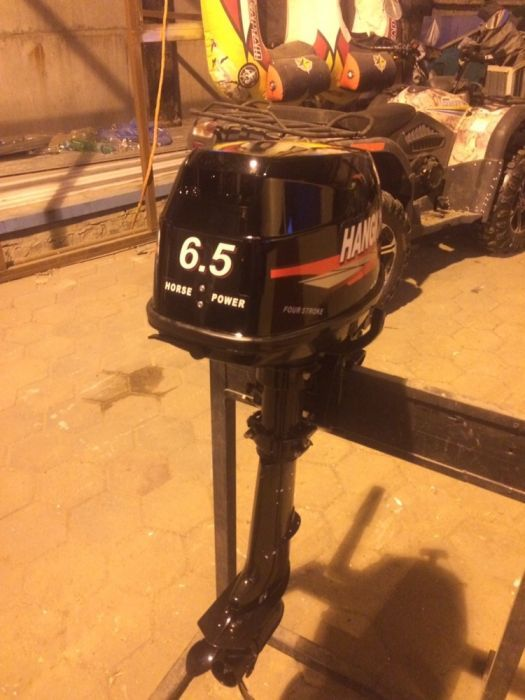 Лодочный мотор hangkai 6.5 л.с 4 тактный