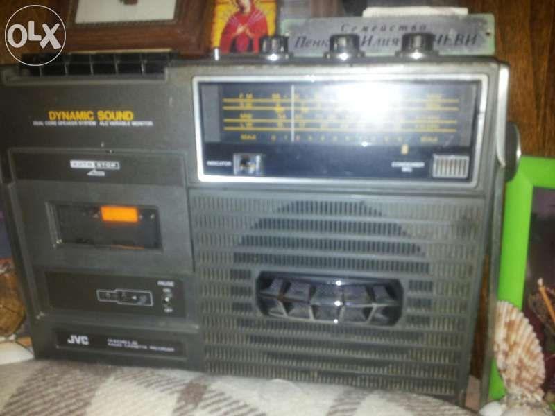 Радио касетофон JVC