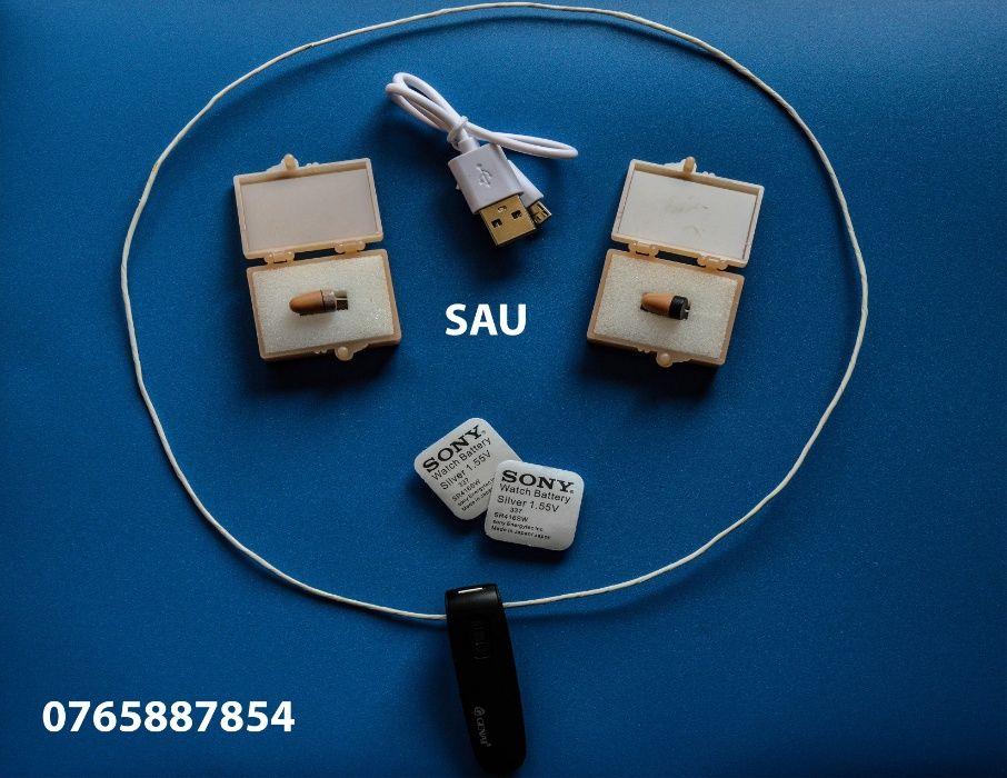 Casca japoneza de copiat cu colier Bluetooth