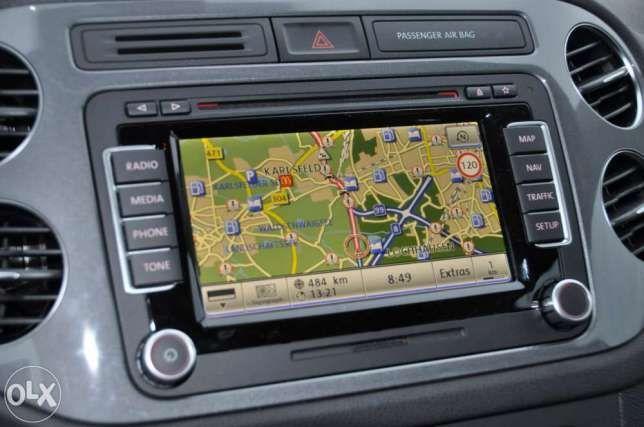 DVD HARTI GPS Volkswagen VW RNS510 RNS810 CD DVD Skoda Seat 2018