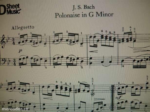 Colectie 1400 de partituri pentru pian-printabile-piese celebre