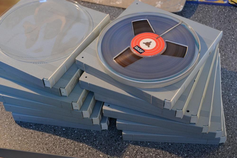banda magnetofon Basf 18cm --agfa maxell akai
