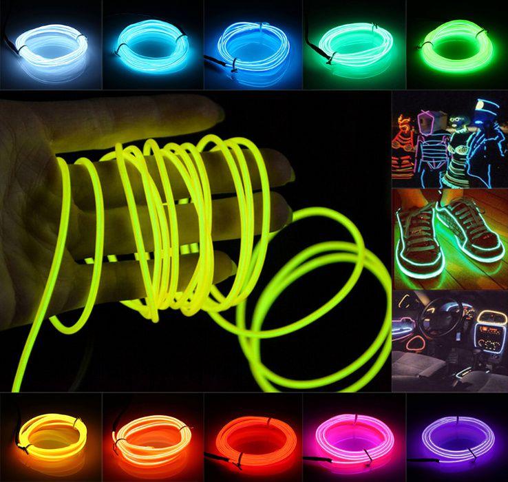 FLEX NEON гибкий холодный неоновый светящийся шнур и всё для освещения