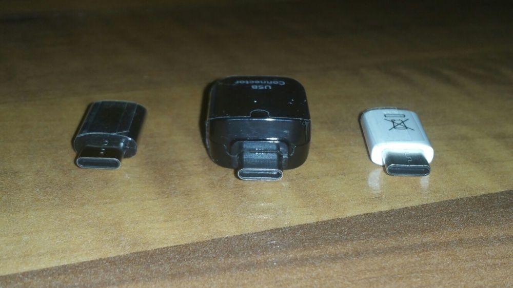 Adaptor OTG Type C-USB/MicroUSB original Samsung S8,S8Plus,S9,S9+Note8