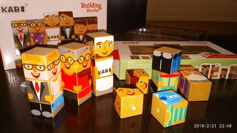 Дървена игра ' Семейство ' логическа забавна игра / дървени играчки