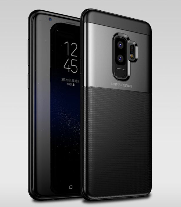 Husa protectie inalta antisoc Jison Case, Samsung S9 Plus, dif. culori