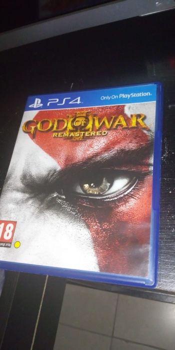 God of war remastered novo
