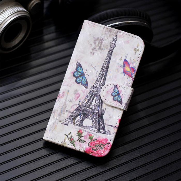 Husa carte iphone 7 plus iphone 8 plus Tour Eiffel