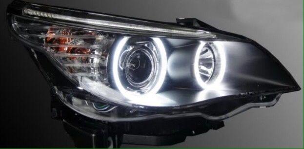 БМВ Ф01 BMW F01 LED ЛЕД габарит енджъл айс Е60 Е90 фейс М пакет Х5 Х6