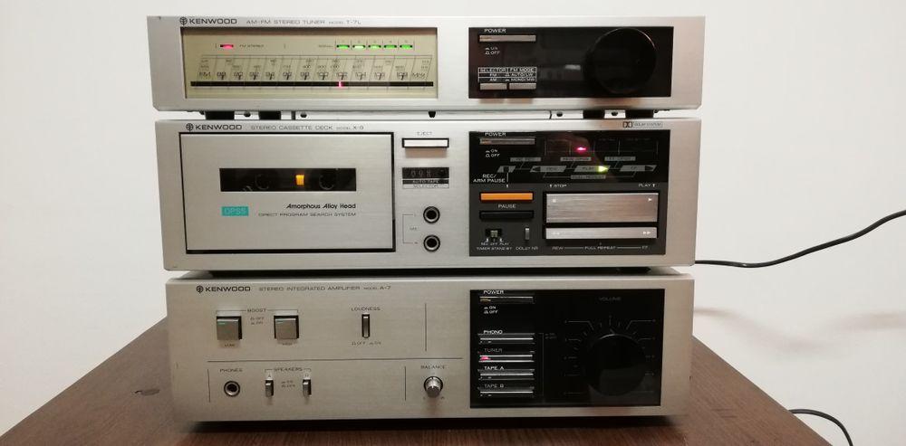 amplituner, linie audio vintage Kenwood A-7