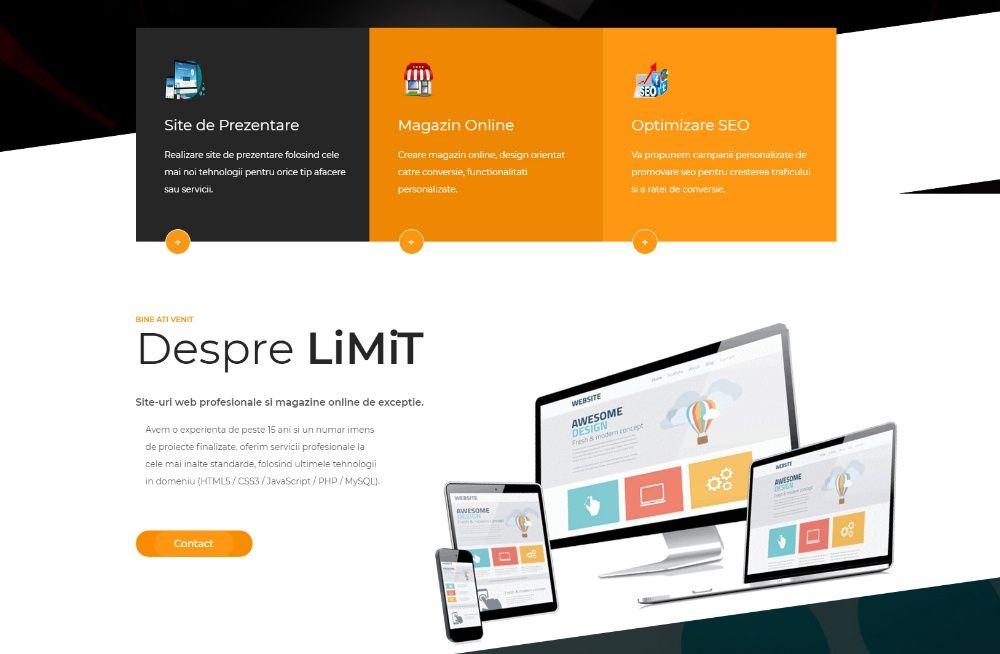 Servicii Realizare Site Web, Creare Magazin Online si Optimizare SEO