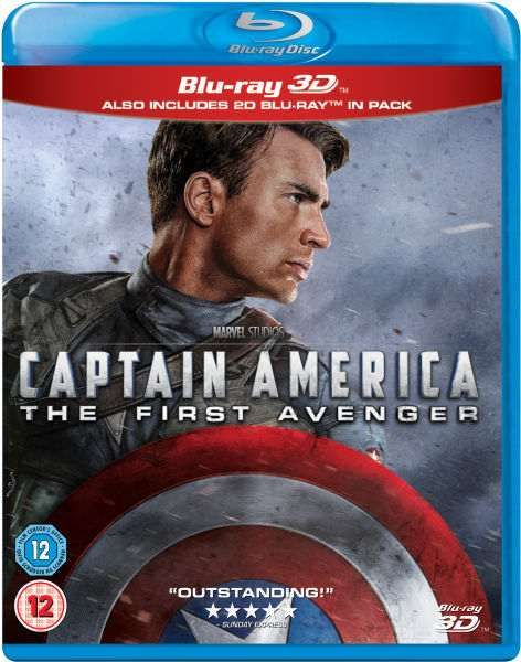 Captain America The First Avenger Blu-Ray