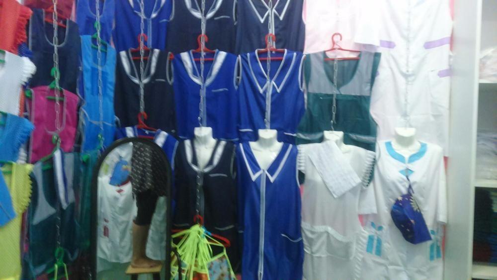Медецинские халаты.униформа для продавцов.