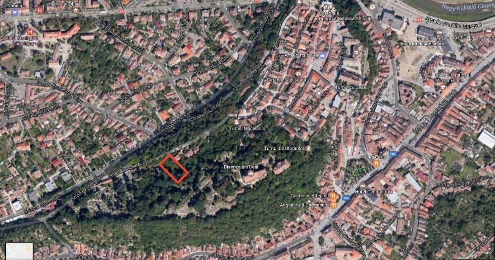Teren de vanzare in zona cetatii medievale Sighisoara