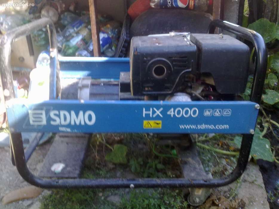 Generator curent electric 4,1Kw SDMO HX4000