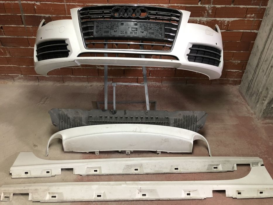 Audi A7 Предна броня /Кора под броня/Прагове/Дифузьор