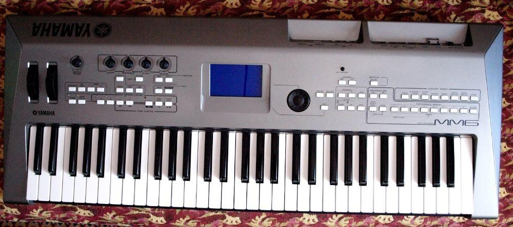 Syntetizator, clapa, orga Yamaha MM6 ca noua