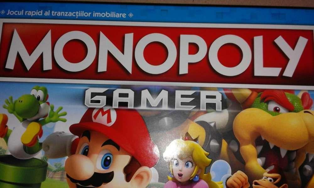 Joc de societate nou Monopoly Gamer Mario,Hasbro Gaming Nintendo C1815