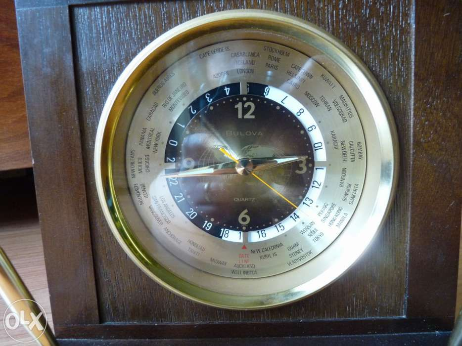 Senzational: ceas de birou Bulova! Raritate!