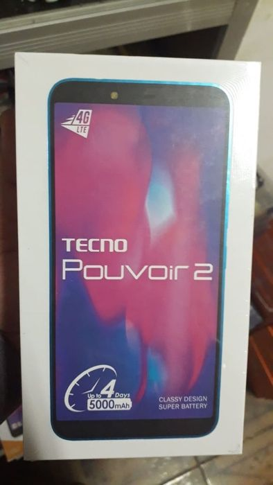 Tecno Pouvior2 selado com garantia de 1ano