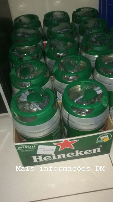 Barril Heineken