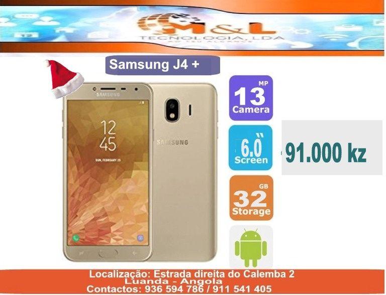 Telemóvel Samsung J4+ Novo original