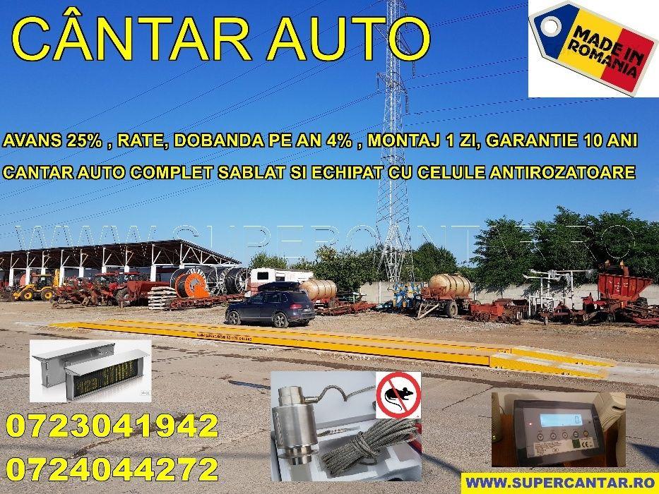Cantar Auto 60t-80t Nou Superslim 25cm Supermobil