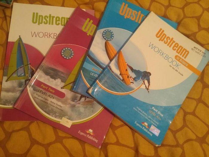 Комплект UpStream А1+ Учебник , Учебна тетрадка