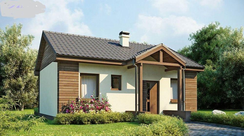 Kit casă lemn 65mp