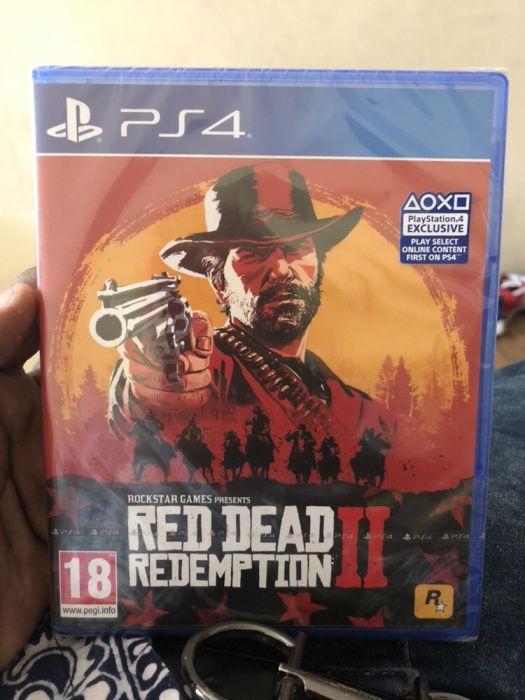 Red Dead Redemption || Ps4 selado