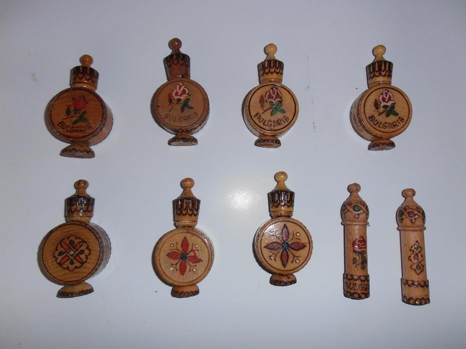 Сувенири - бъклици, мускал българска роза