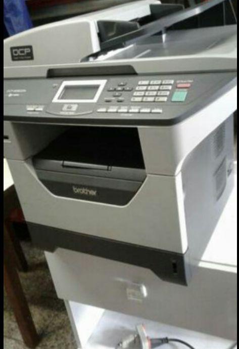 Máquina de impressão disponível