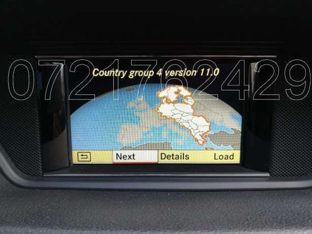 MERCEDES-BENZ DVD Navigatie AUDIO 50 APS NTG4 212 Romania V.11 2016