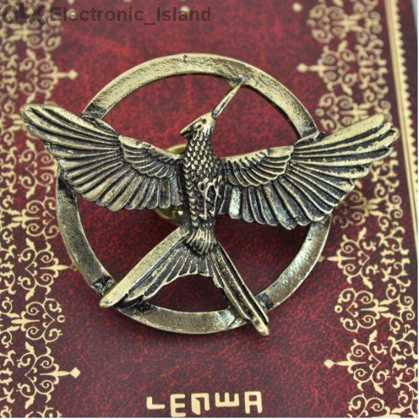 Брошка от филма Игрите на глада 3 Сойка присмехулка Hunger Games Mocki