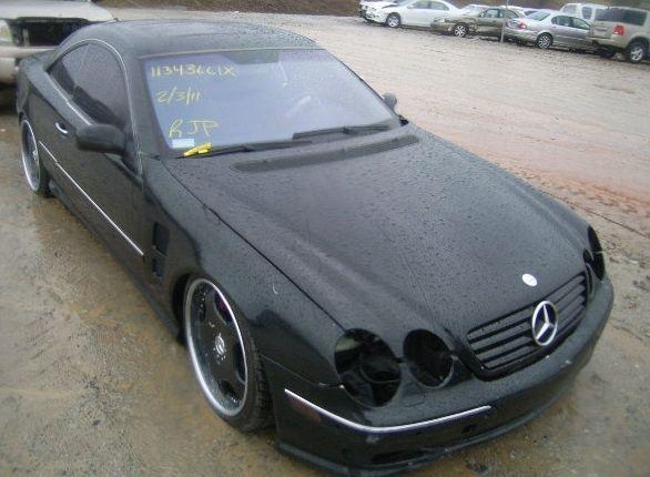 Mercedes CL 500 / Мерцедес СЛ 500 НА ЧАСТИ