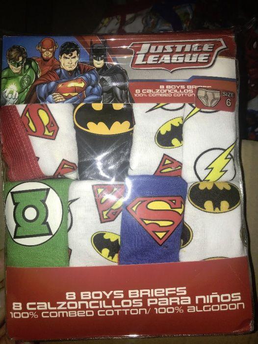 Детско бельо слип Superman ,Spiderman,Batman,Cars,The Flash,Hulk,Thor гр. Пловдив - image 3