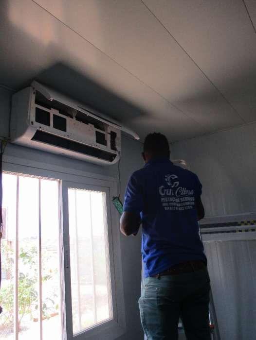 Instalação, reparação e manutenção de ar condicionado
