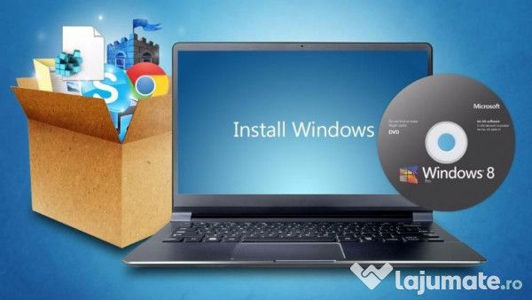 Instalez windows 7 /8.1/10 licentiat