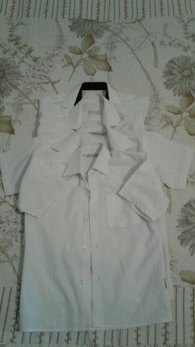 Школьные рубашки с коротким рукавом