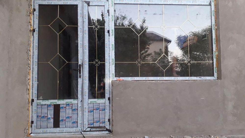 Пластиковые окна двери витражи из металлопластика и алюминия
