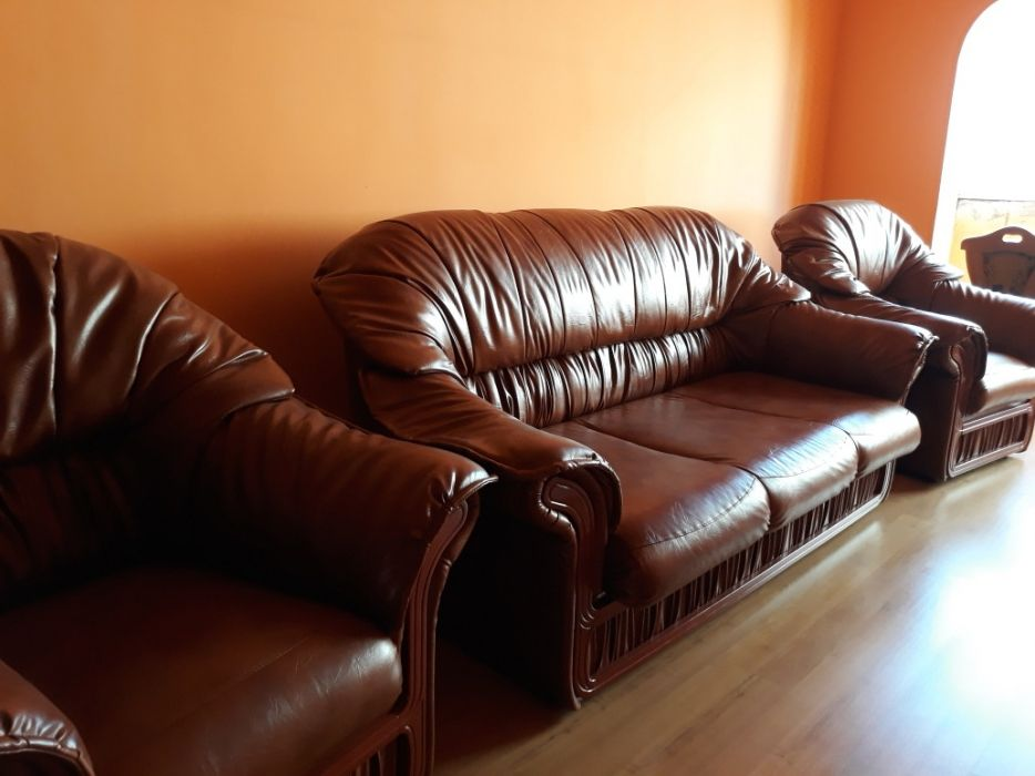 Canapea Leonardo cu două fotolii