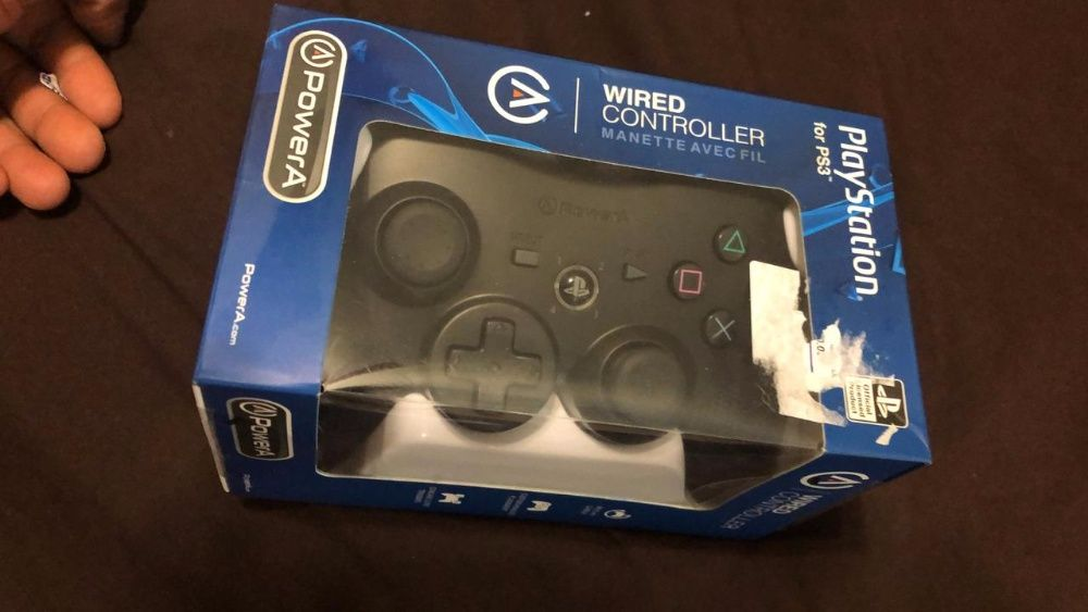 Comando portátil de PlayStation 3 (wired controller manette avec fil)
