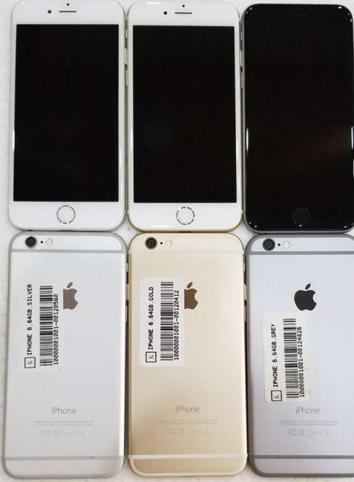 IPhones 6 64 GB novos fora da caixa & Nunca usados