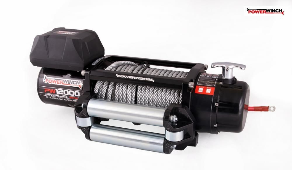 Лебедка за джип PowerWinch PW12000PSV (12000lb) 5443 kg