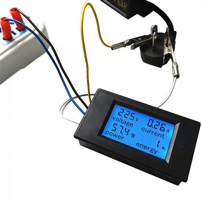 Електромер контролен с дисплей power meter ac