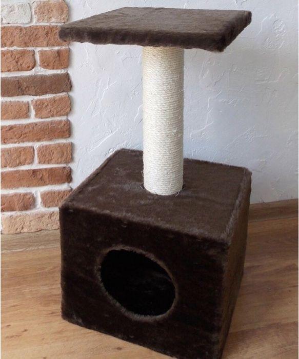 Продам новый дом-когтеточку для кошек!Доставка бесплатная!