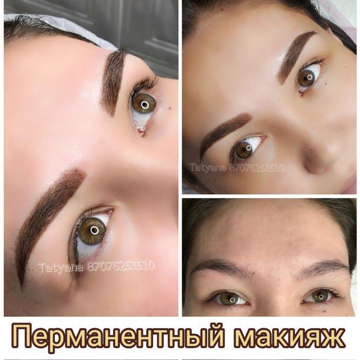 АКЦИЯ!!!Перманентный макияж Татуаж (брови,губы,стрелки)