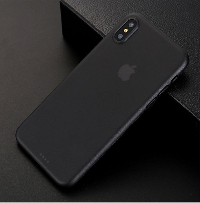 Husa Ultra Subtire 0.26mm Din Plastic Mat - Iphone X XS 10
